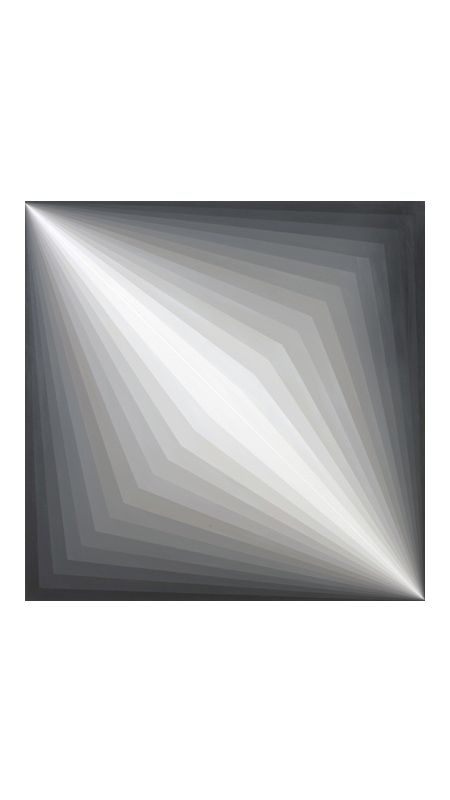 Light Painting #2 | 2008 Acrylic on canvas | 76 x 76 cm