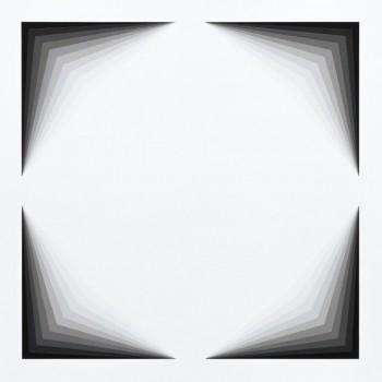 Light Lines #1 2013   Acrylic on linen 100 x 100cm