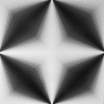 Light Lines #3 2014   Acrylic on linen 100 x 100cm