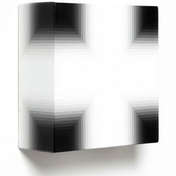 White Black, 2014   Acrylic on canvas 31 x 31 x 12cm
