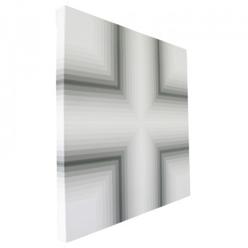 Transcept 2014 (side view)   Acrylic on canvas 56 x 56cm