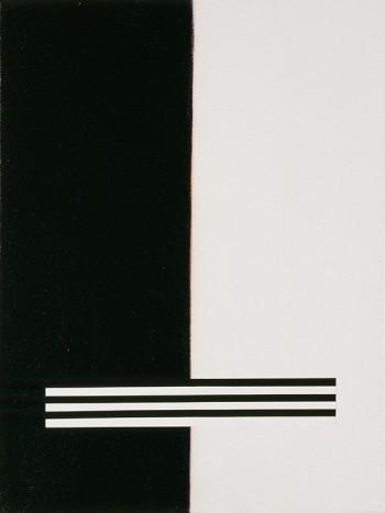 Etude: Edges #10   2006 Acrylic on canvas   31 x 40.5 cm