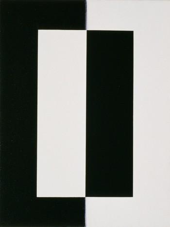 Etude: Edges #5   2006 Acrylic on canvas   31 x 40.5 cm