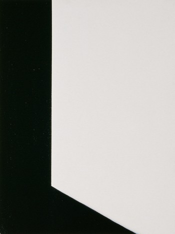 Etude: Edges #8 | 2006 Acrylic on canvas | 31 x 40.5 cm
