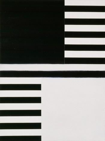 Etude: Edges #9   2006 Acrylic on canvas   31 x 40.5 cm