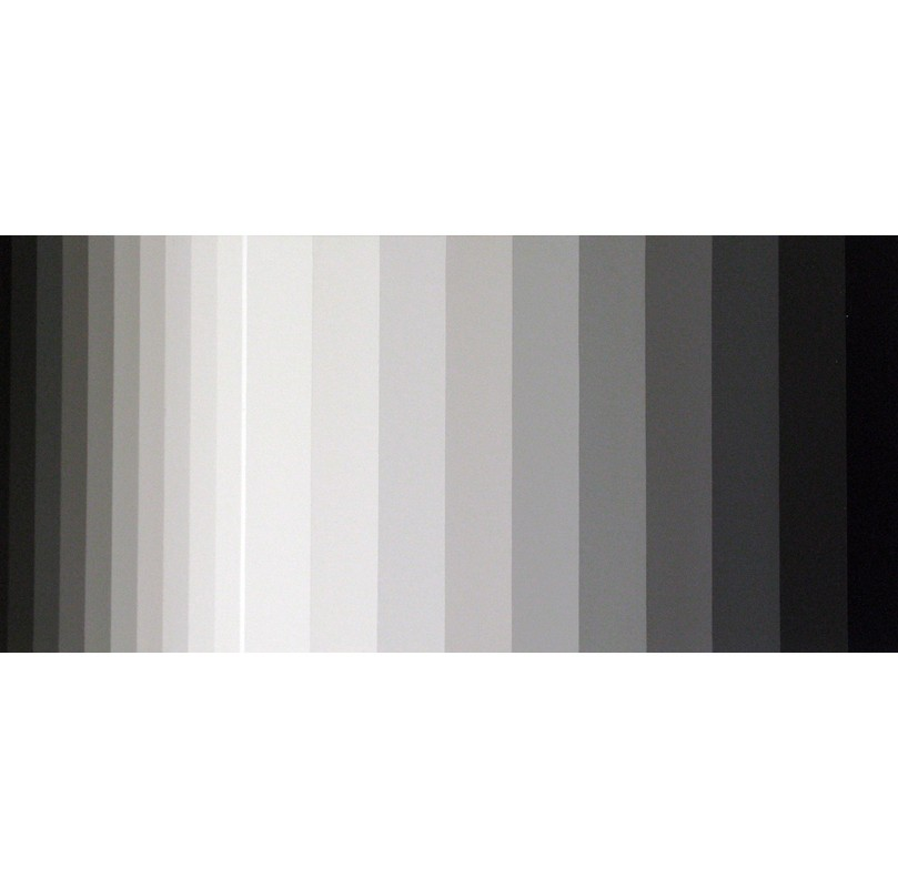 Light Band Painting #12 | 2010 | Acrylic on canvas | 66 x 31 cm
