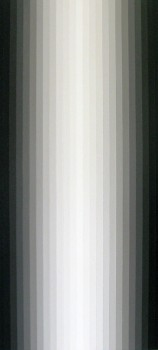Light Band Painting #13 | 2010 | Acrylic on canvas | 31 x 66 cm