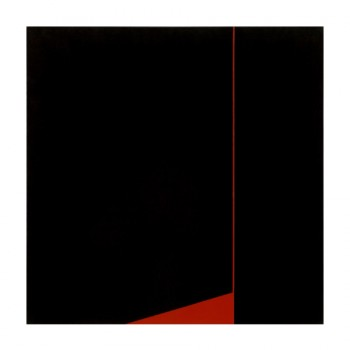 Nocturne for Red (Space) #3 | 2004 | Acrylic on canvas | 76.5 x 76.5 cm
