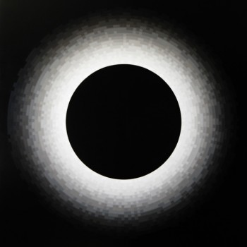 Probability Monochrome Eclipse | 2012 Acrylic on canvas 122 x 101.5cm