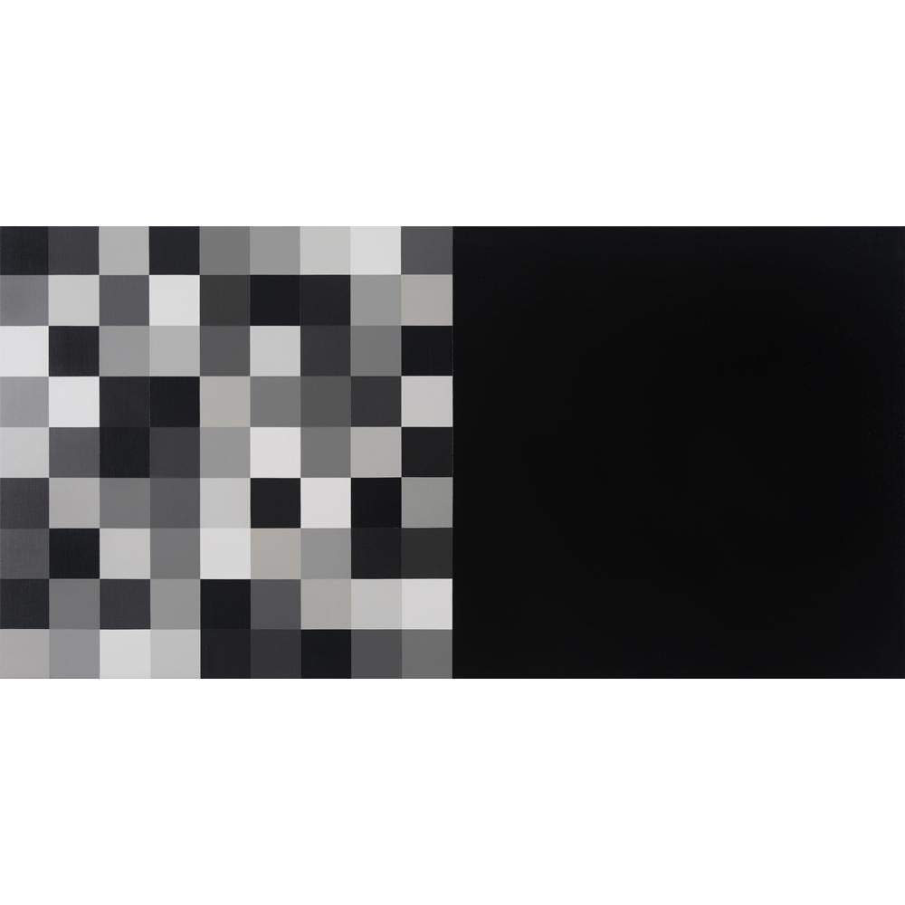 Tabula Rasa | 2016 Acrylic on linen 72 x 154cm