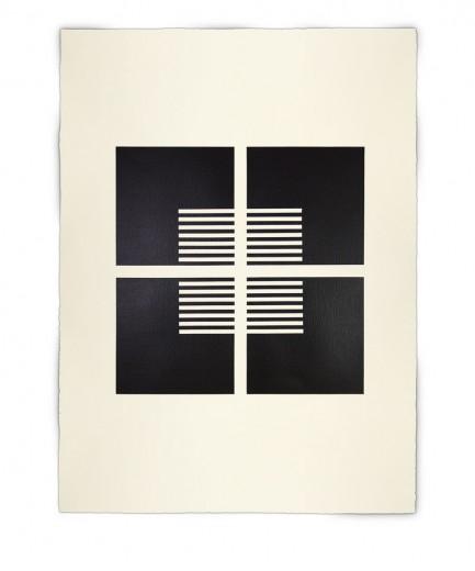 Corner-Suite: Variation #2 | 2011 Acrylic on watercolour paper 56 x 76 cm