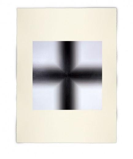 Corner-Suite: Variation #3 | 2011 Acrylic on watercolour paper 56 x 76 cm