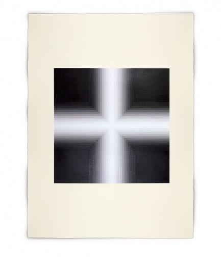 Corner-Suite: Variation #4 | 2011 | Acrylic on watercolour paper | 56 x 76 cm