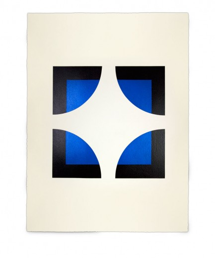 Corner-Suite: Variation #5 | 2011 | Acrylic on watercolour paper | 56 x 76 cm