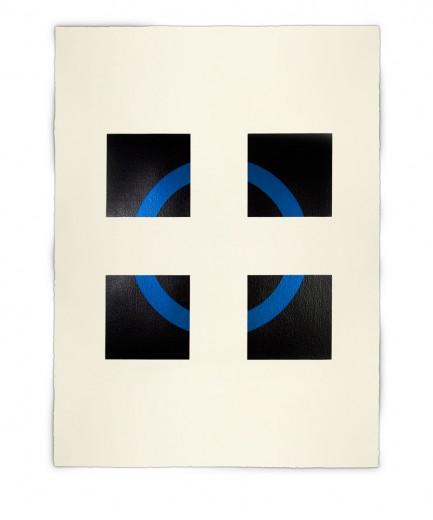 Corner-Suite: Variation #6 | 2011 | Acrylic on watercolour paper | 56 x 76 cm