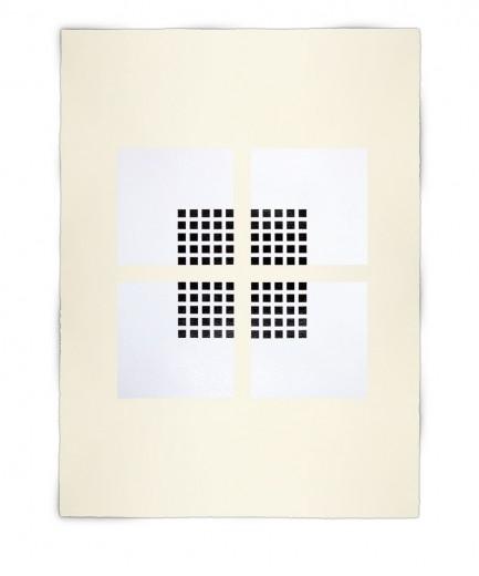 Corner-Suite: Variation #8 | 2011 | Acrylic on watercolour paper | 56cm x 76 cm