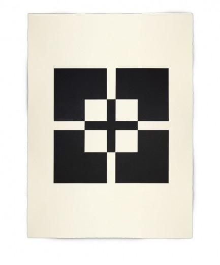 Corner-Suite: Variation #10 | 2011 | Acrylic on watercolour paper | 56 x 76 cm