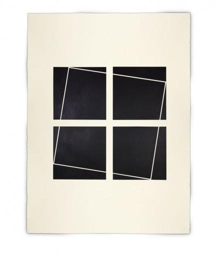 Corner-Suite: Variation #11 | 2011 | Acrylic on watercolour paper | 56 x 76 cm