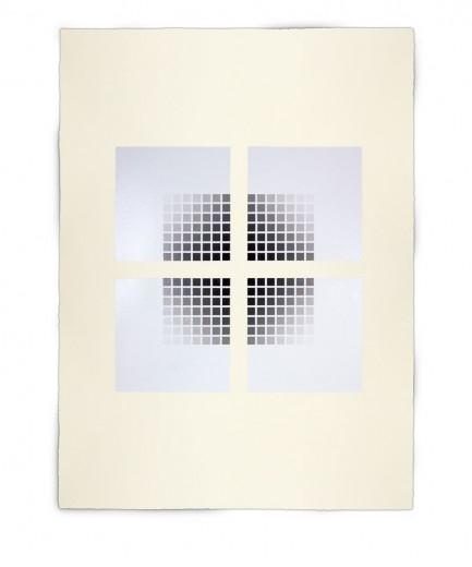 Corner-Suite: Variation #12 | 2011 | Acrylic on watercolour paper | 56 x 76 cm