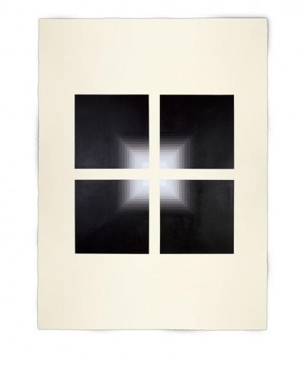 Corner-Suite: Variation #13 | 2011 | Acrylic on watercolour paper | 56 x 76 cm