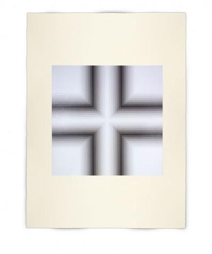 Corner-Suite: Variation #14 | 2011 | Acrylic on watercolour paper | 56 x 76 cm