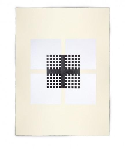 Corner-Suite: Variation #15 | 2011 | Acrylic on watercolour paper | 56 x 76 cm