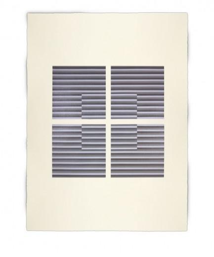 Corner-Suite: Variation #16 | 2012 | Acrylic on watercolour paper | 56 x 76 cm