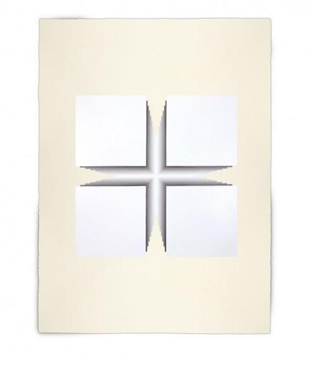 Corner-Suite: Variation #17 | 2012 | Acrylic on watercolour paper | 56 x 76 cm