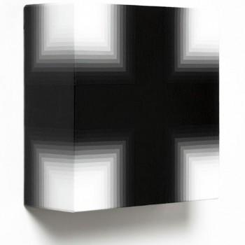 Black White, 2014 | Acrylic on canvas 31 x 31 x 12cm
