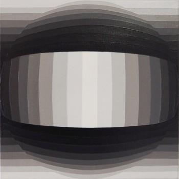 Globe | 2015 Acrylic on linen 25.5cm x 25.5cm