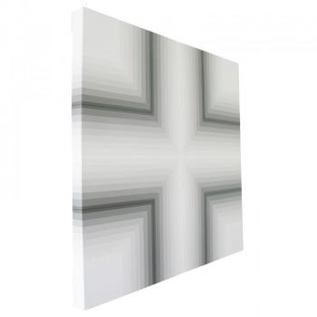 Transcept 2014 (side view) | Acrylic on canvas 56 x 56cm