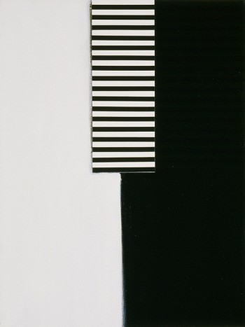 Etude: Edges #1 | 2006 Acrylic on canvas | 31 x 40.5 cm