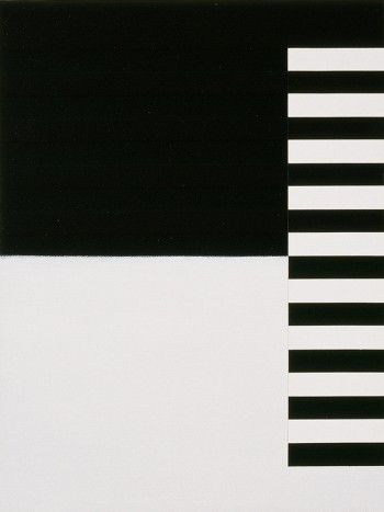 Etude: Edges #2 | 2006 Acrylic on canvas | 31 x 40.5 cm