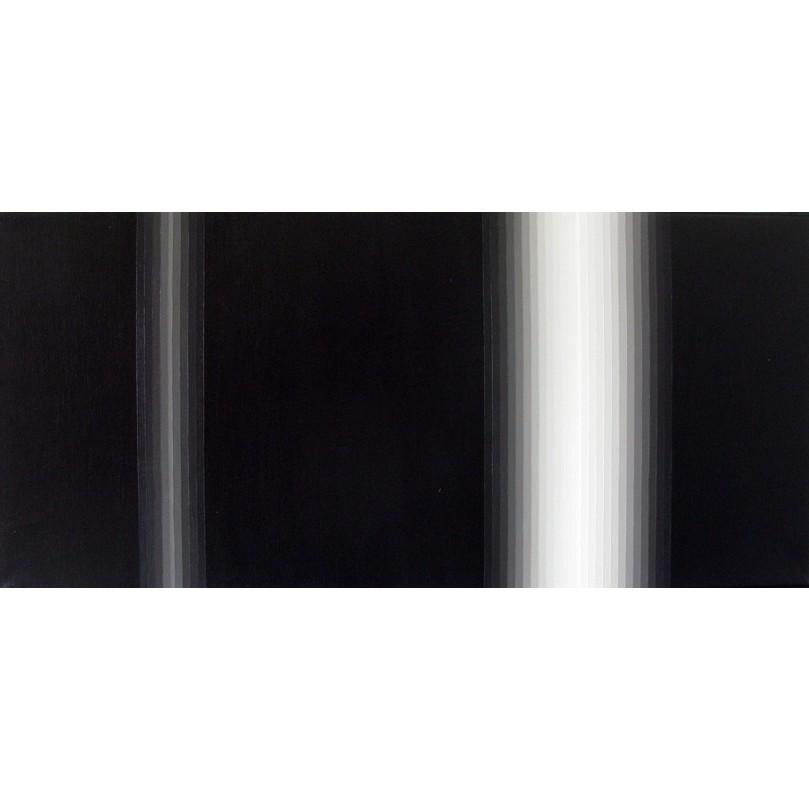 Light Band Painting #10 | 2010 | Acrylic on canvas | 66 x 31 cm