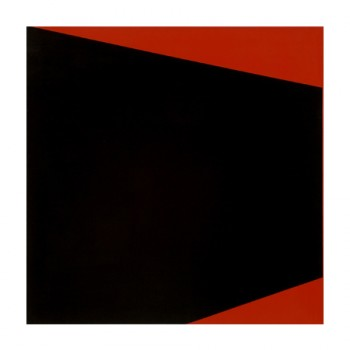 Nocturne for Red (Space) #1 | 2004 | Acrylic on canvas | 76.5 x 76.5 cm