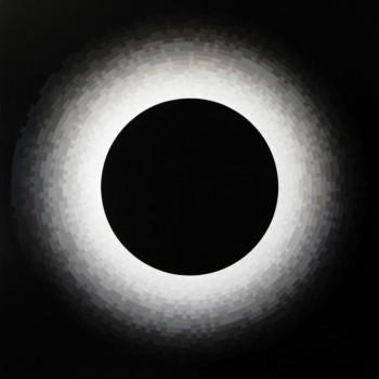 Probability Monochrome Eclipse | 2012 Acrylic on canvas 122 x 101.5cm