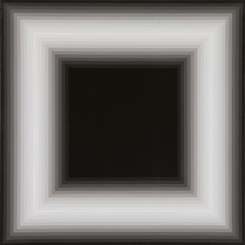 Proximal #3 | 2008 Acrylic on linen | 46 x 46 cm