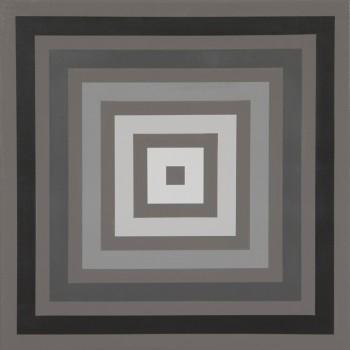 Proximal #8 | 2008 Acrylic on linen | 46 x 46 cm
