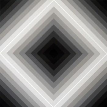 Proximal #9 | 2008 Acrylic on linen | 46 x 46 cm