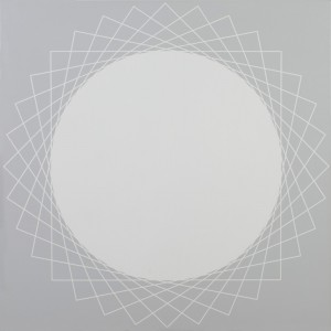 Square #1 | 2008 Acrylic on canvas | 101.5 x 101.5 cm