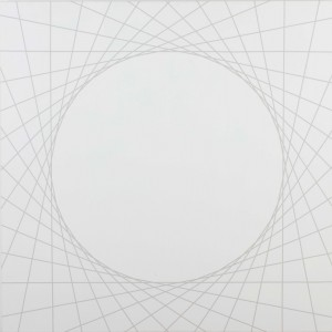 Square #2 | 2008 Acrylic on canvas | 101.5 x 101.5 cm