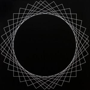 Square #3 | 2008 Acrylic on canvas | 101.5 x 101.5 cm