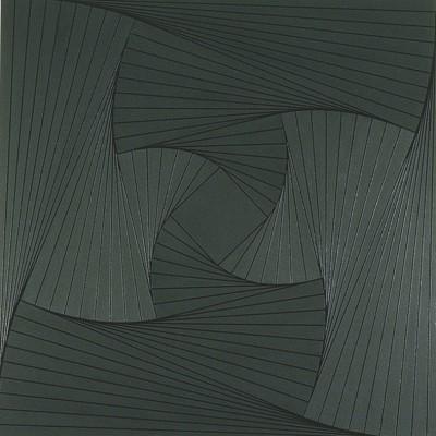Trace (Grey #2) | 2008 Acrylic on canvas | 101.5 x 101.5 cm